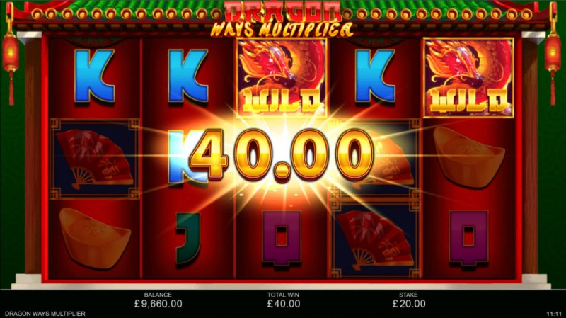 Dragon Ways Multiplier :: A five of a kind win