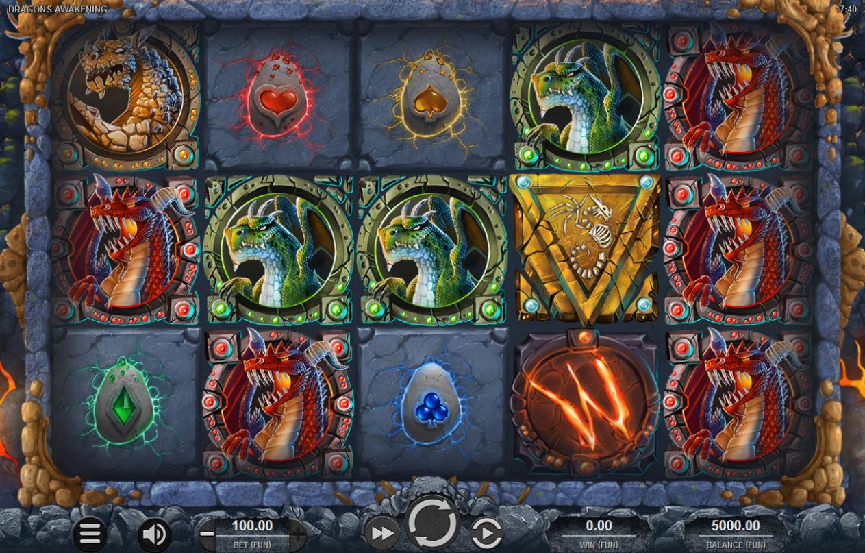 Dragons Awakening :: Main Game Board