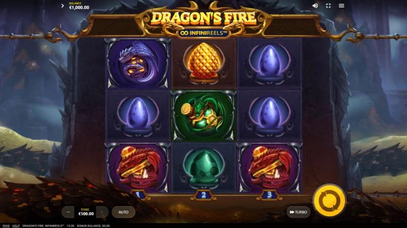Dragon's Fire Infinireels :: Main Game Board