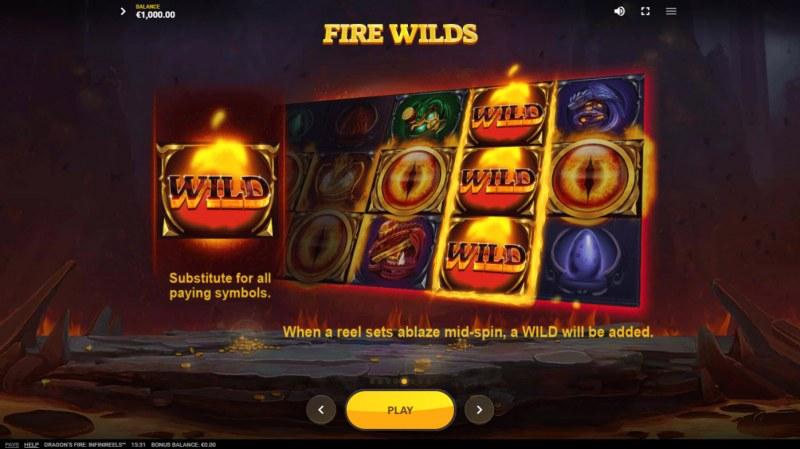 Dragon's Fire Infinireels :: Fire Wilds