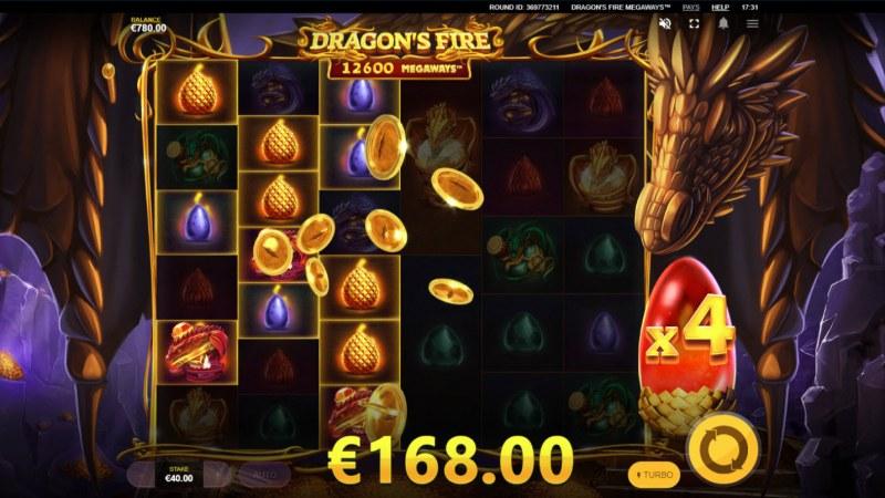 Dragon's Fire Megaways :: Multiple winning combinations