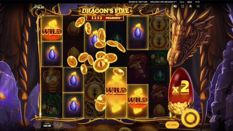Dragon's Fire Megaways :: Multiple winning combinations leads to a big win