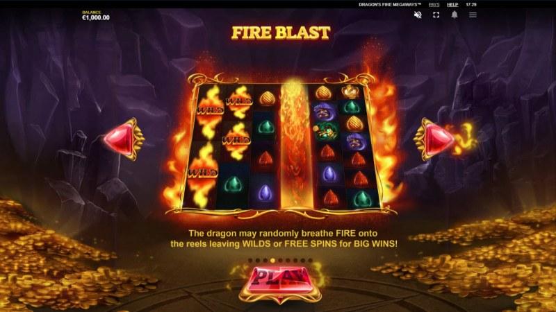 Dragon's Fire Megaways :: Fire Blast