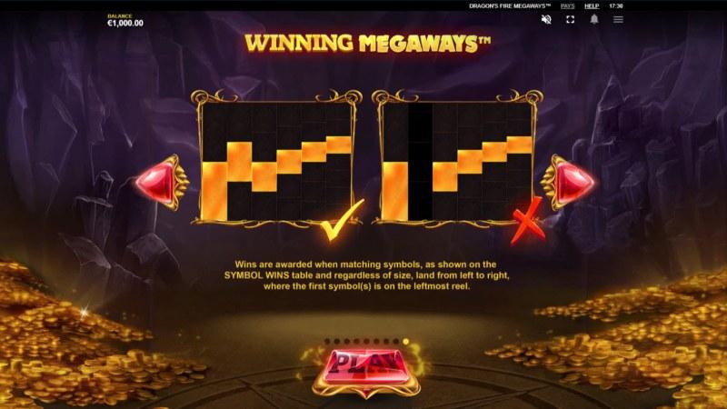Dragon's Fire Megaways :: Winning Megaways