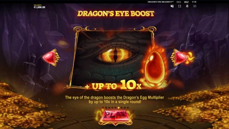 Dragon's Fire Megaways :: Dragons Eye Boost