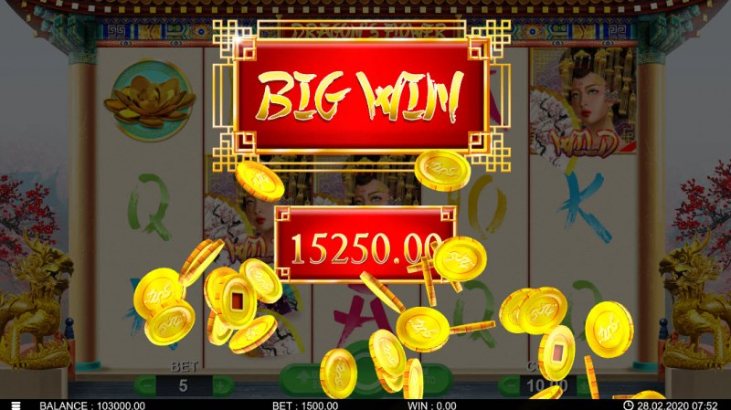 Dragon's Flower :: Big Win