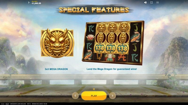 Dragon's Luck Deluxe :: Mega Symbol