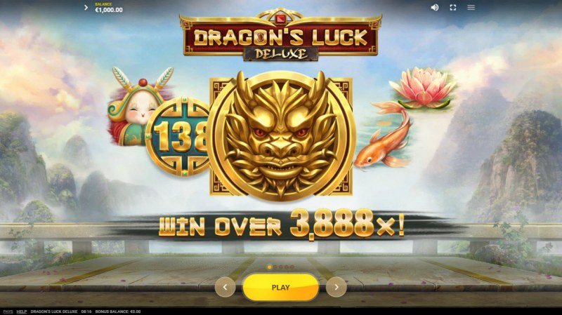 Dragon's Luck Deluxe :: Win over 3888x