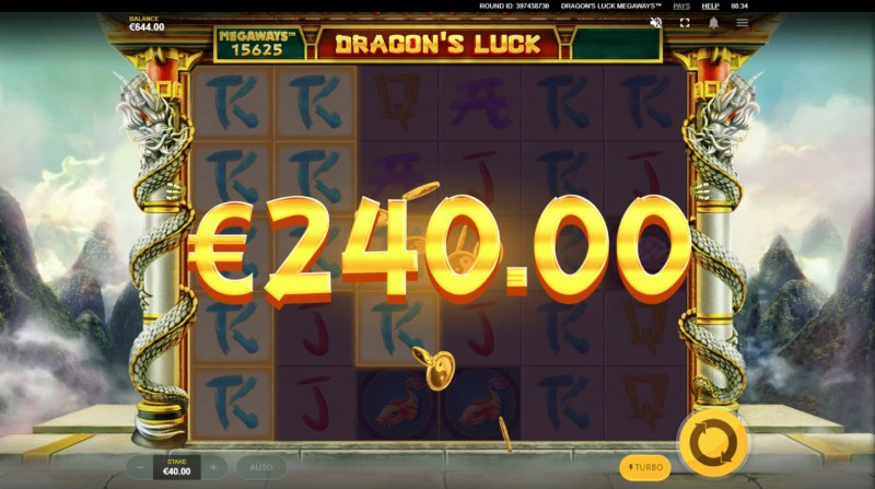 Dragon's Luck Megaways :: Multiple winning combinations leads to a big win