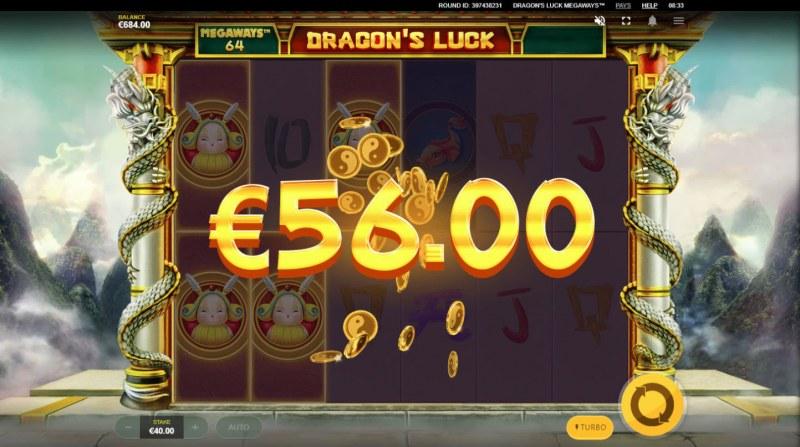 Dragon's Luck Megaways :: Three of a kind