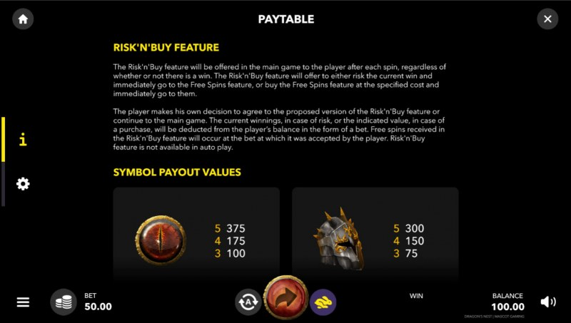 Dragon's Nest :: Buy Feature