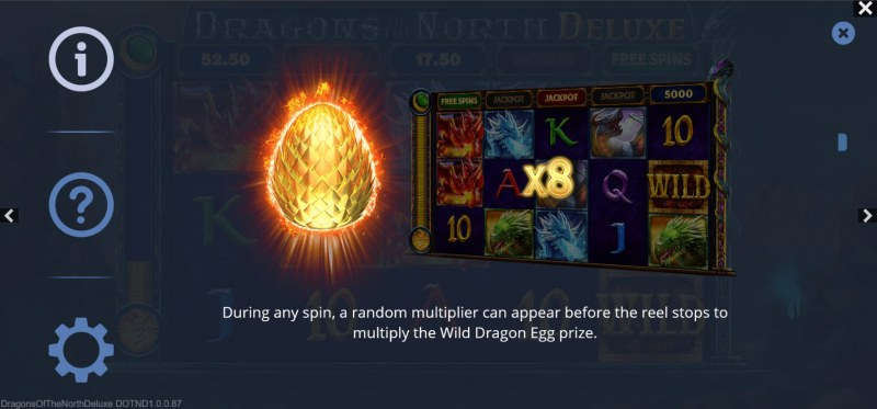 Dragons of the North Deluxe :: Random Multiplier