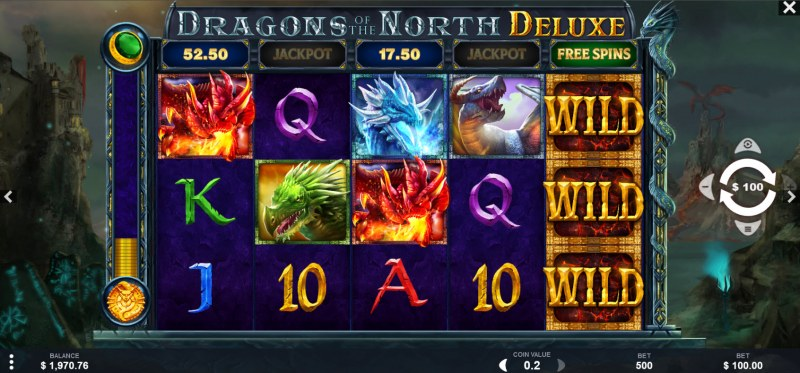 Dragons of the North Deluxe :: Main Game Board