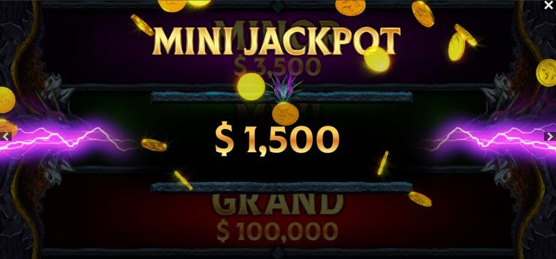 Dragons of the North Deluxe :: Mini Jackpot Awarded