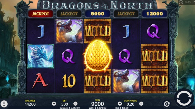 Dragons of the North :: Jackpot awarded