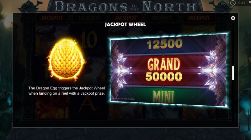 Dragons of the North :: Jackpot Rules