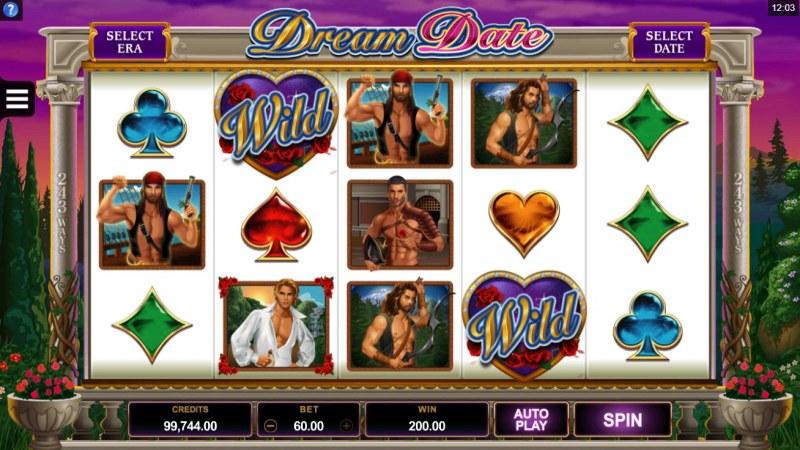 Dream Date :: A four of a kind win