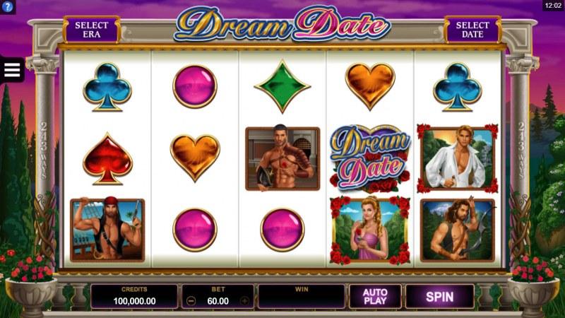 Dream Date :: Main Game Board