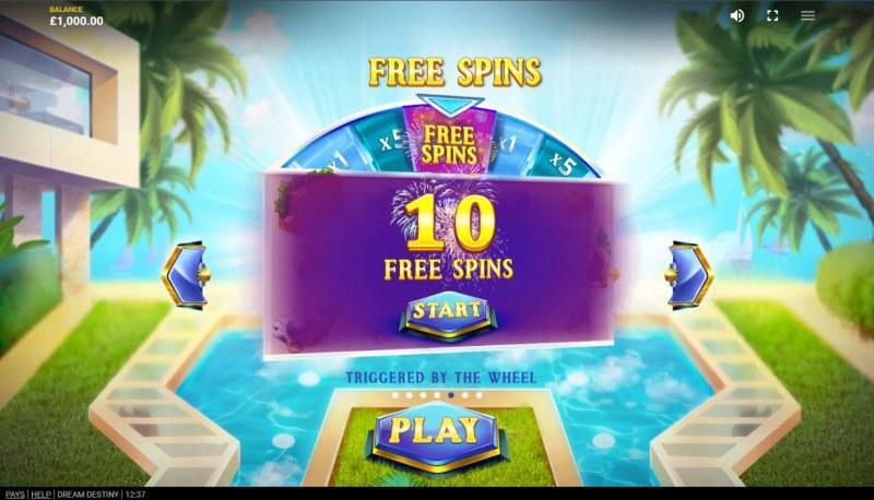 Dream Destiny :: Free Spins