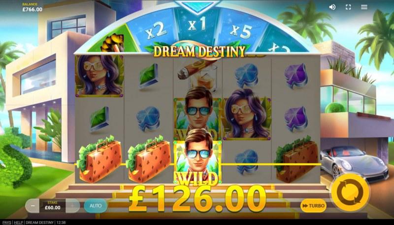 Dream Destiny :: A three of a kind win
