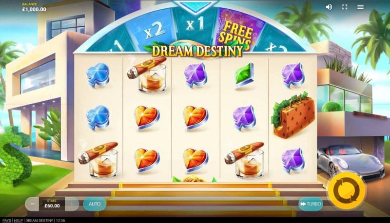 Dream Destiny :: Base Game Screen