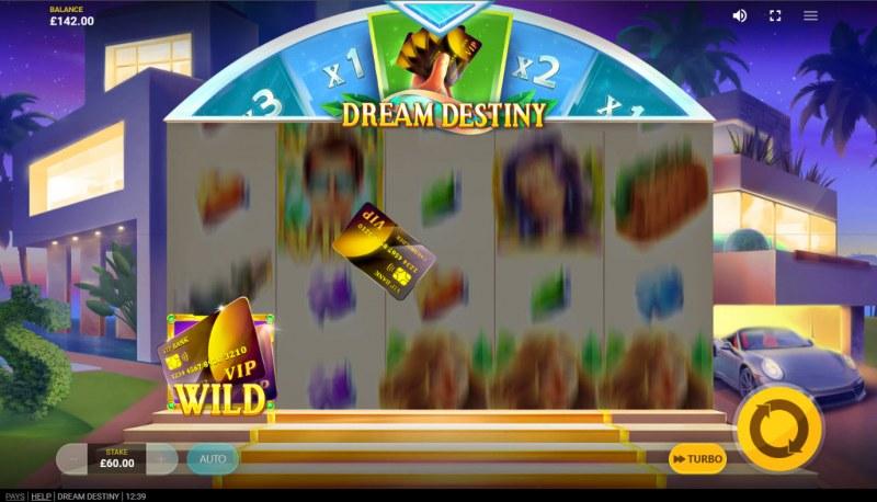 Dream Destiny :: Random Wilds feature activated