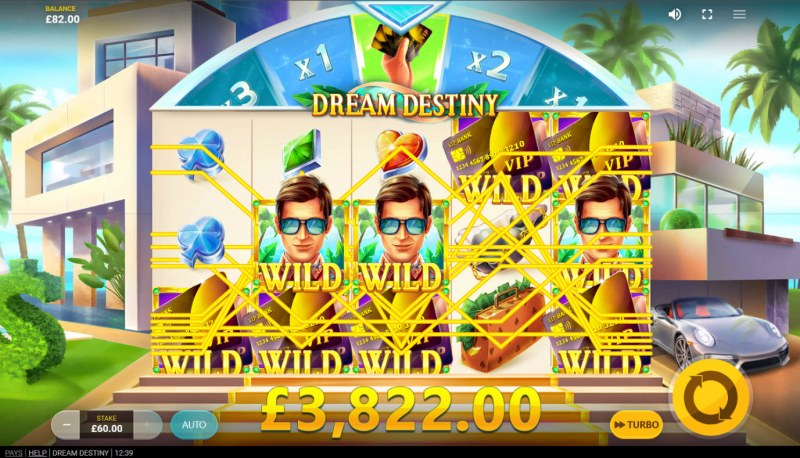 Dream Destiny :: Multiple winning combinations lead to a big win