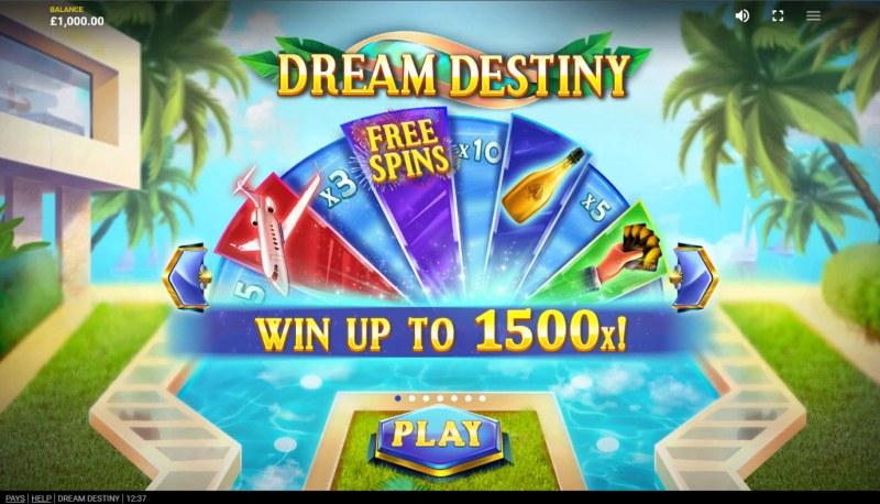 Dream Destiny :: Win Up To 1500x