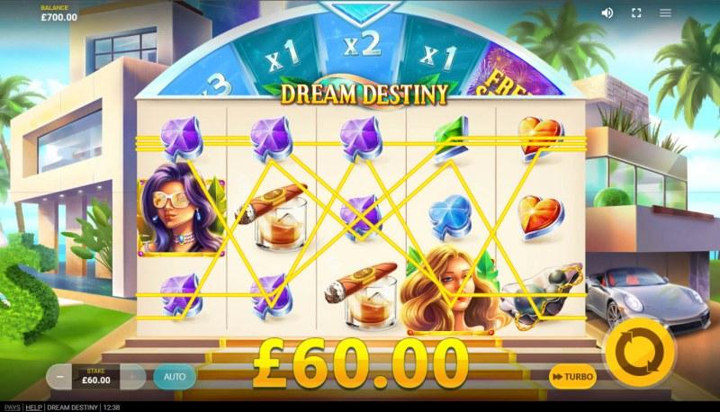 Dream Destiny :: Multiple winning paylines