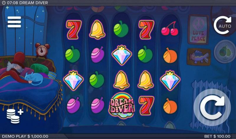 Dream Diver :: Main Game Board