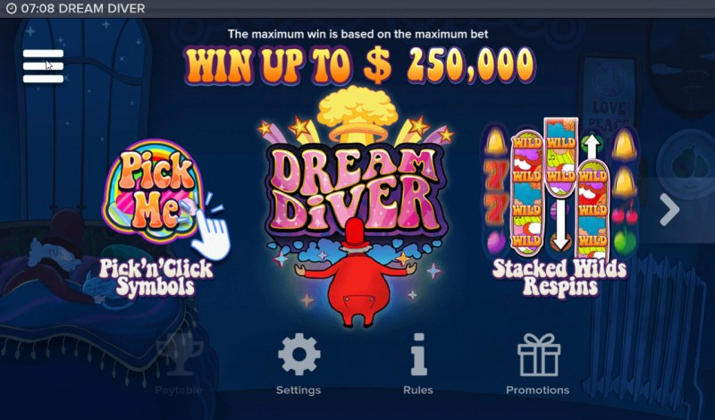 Dream Diver :: Win Up To $250,000
