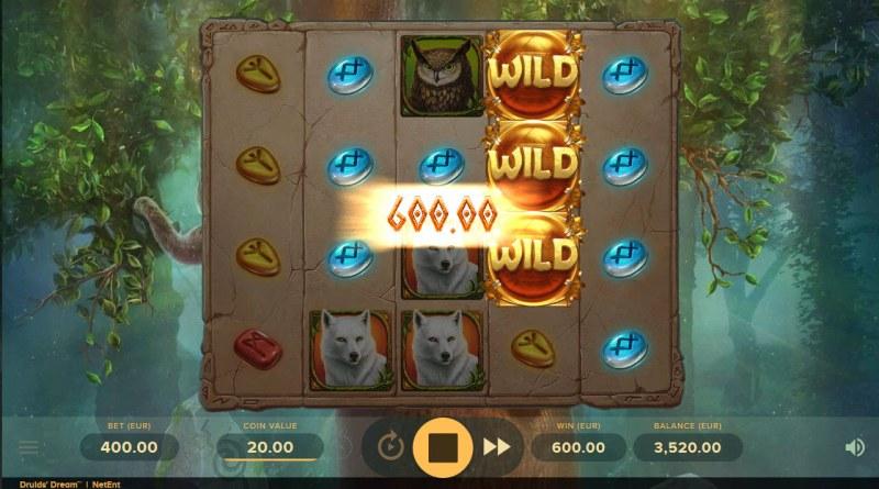 Druids Dream :: Multiple winning paylines