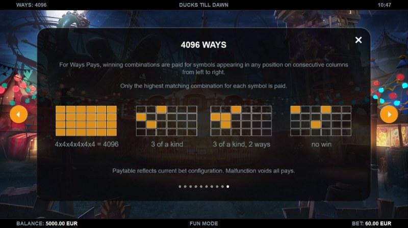 Ducks Till Dawn :: 4096 Ways to Win