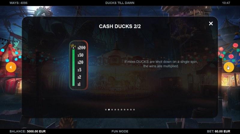 Ducks Till Dawn :: Cash Ducks Feature