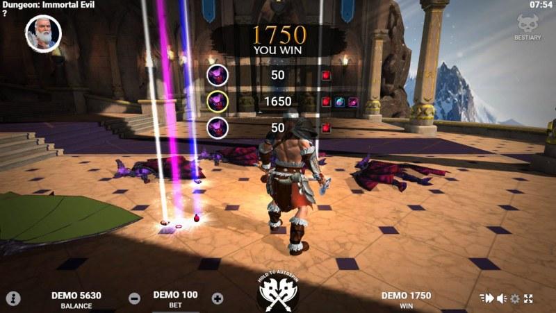 Dungeon Immortal Evil :: Multiple winning combinations