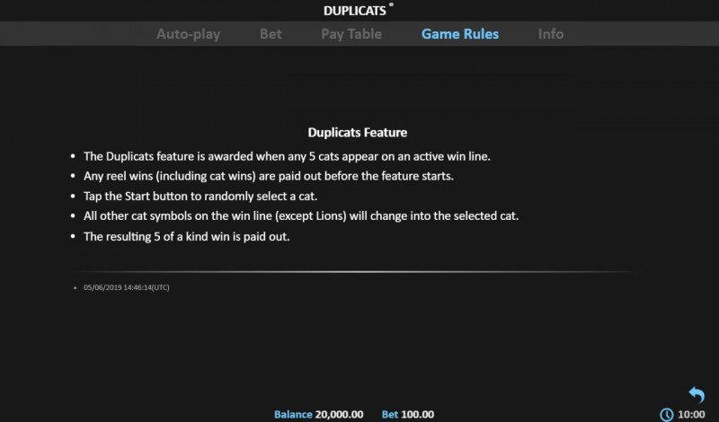 Duplicats :: Feature Rules