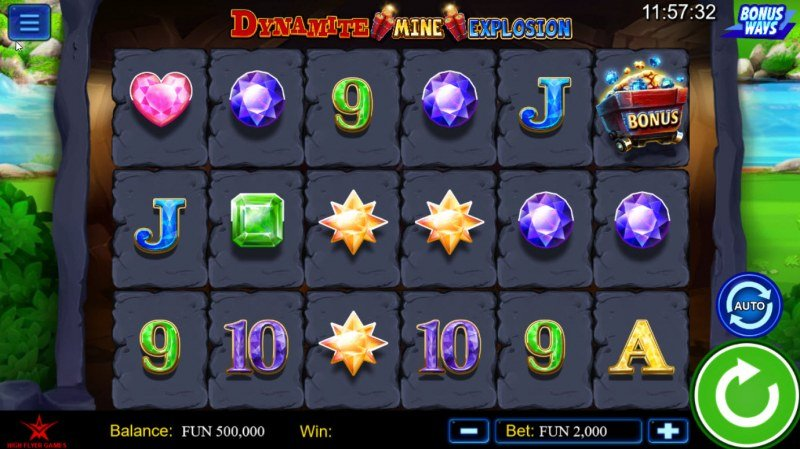 Dynamite Mine Explosion :: Main Game Board