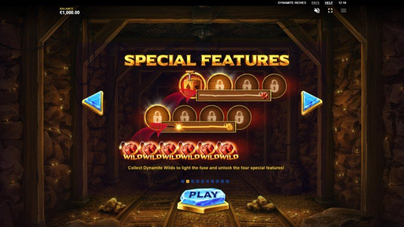 Dynamite Riches :: Special Features