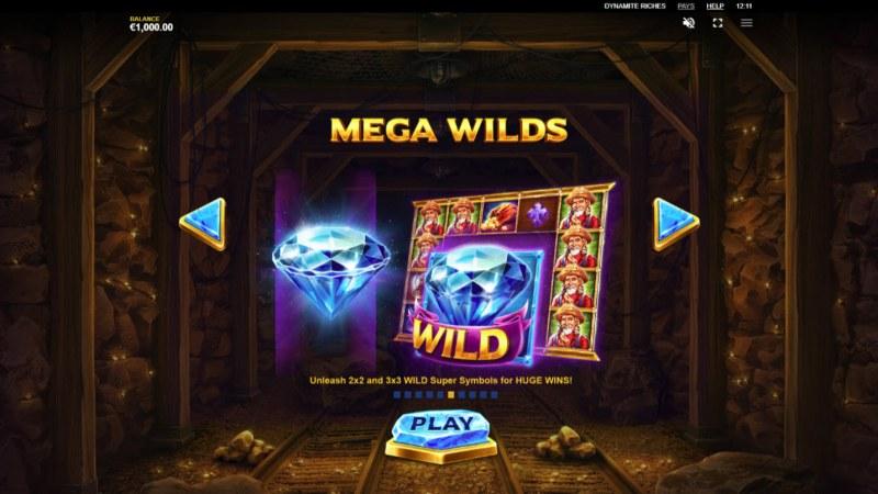 Dynamite Riches :: Mega Wilds