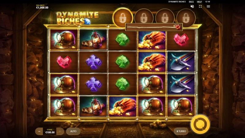Dynamite Riches :: Main Game Board