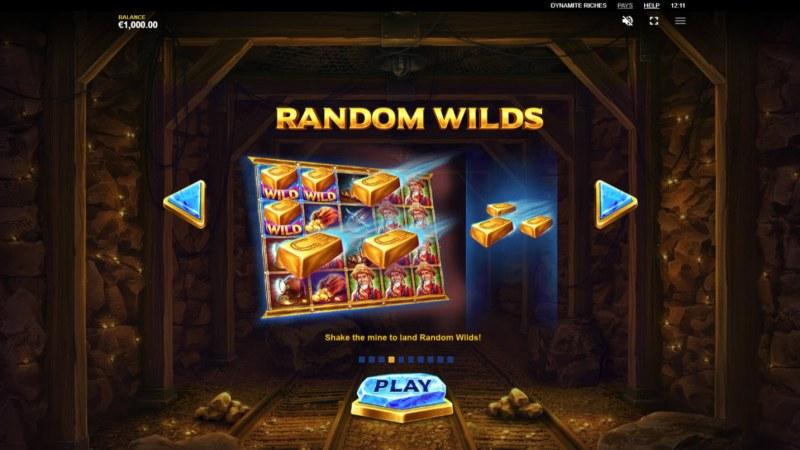 Dynamite Riches :: Random Wilds