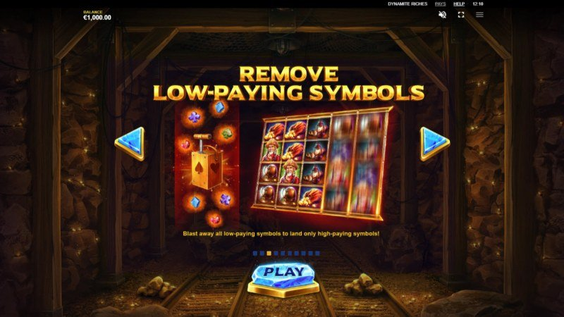 Dynamite Riches :: Remove Low-Paying Symbols
