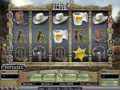 Play slots at Wild Wild Bet: Wild Wild Bet featuring the Video Slots Dead or Alive with a maximum payout of $56,250