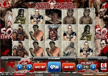 Play slots at SuperCat: SuperCat featuring the Video Slots Deadworld with a maximum payout of $1,250