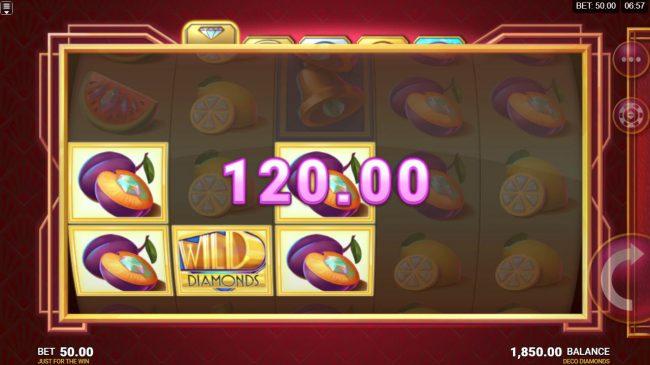 Deco Diamonds :: Multiple winning paylines