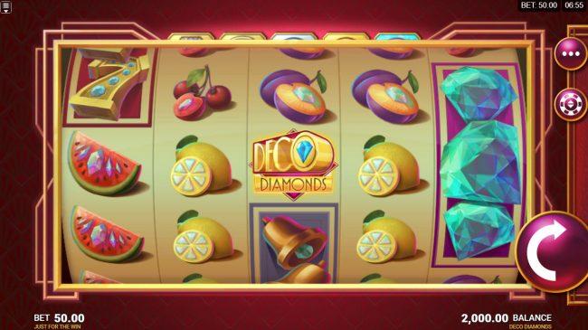 Deco Diamonds :: Main Game Board