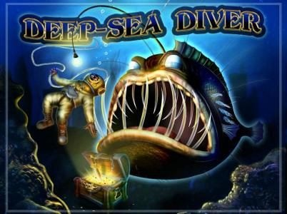Casino Luck featuring the Video Slots Deep Sea Diver with a maximum payout of $50,000