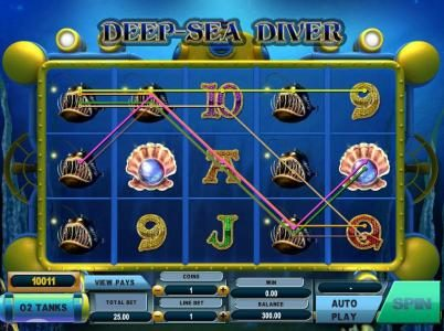 Play slots at Slots Cafe: Slots Cafe featuring the Video Slots Deep Sea Diver with a maximum payout of $50,000
