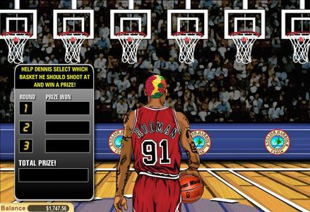 Red Stag featuring the Video Slots Dennis Rodman with a maximum payout of $100,000