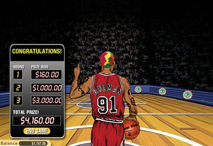 Play slots at Miami Club: Miami Club featuring the Video Slots Dennis Rodman with a maximum payout of $100,000